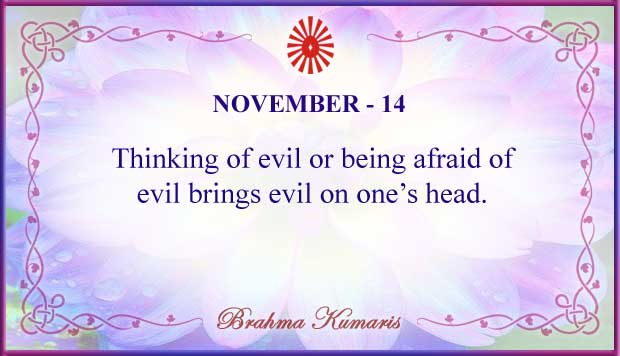 Thought For The Day November 14