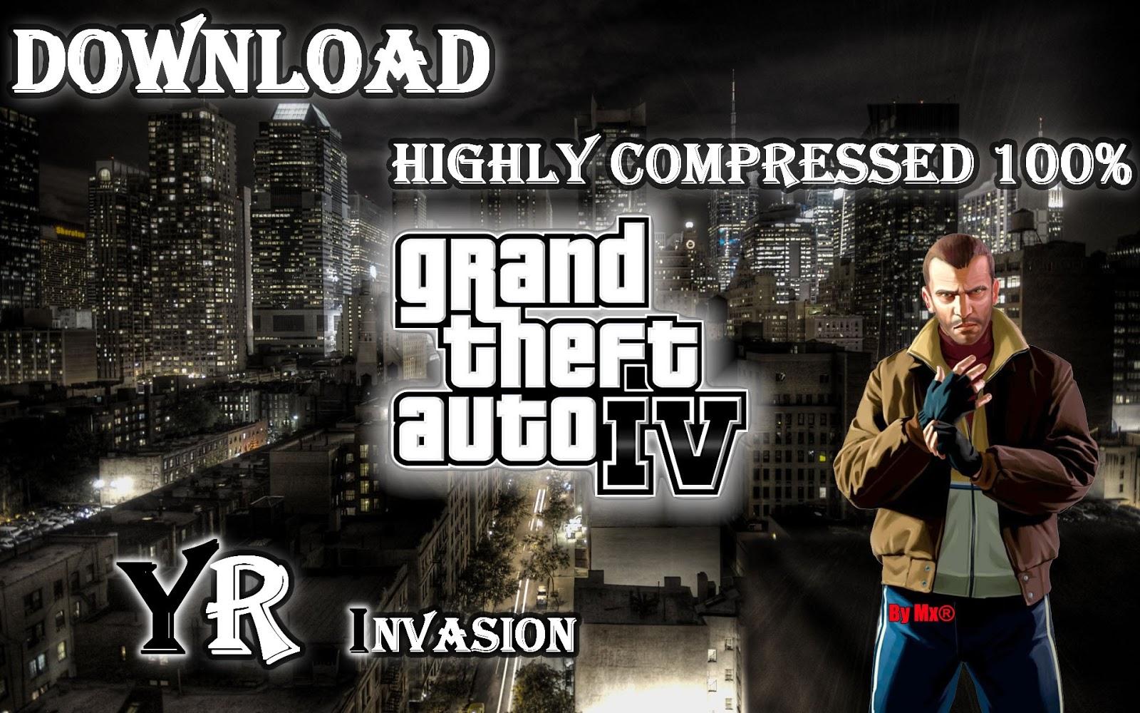 gta iv compressed 74mb download