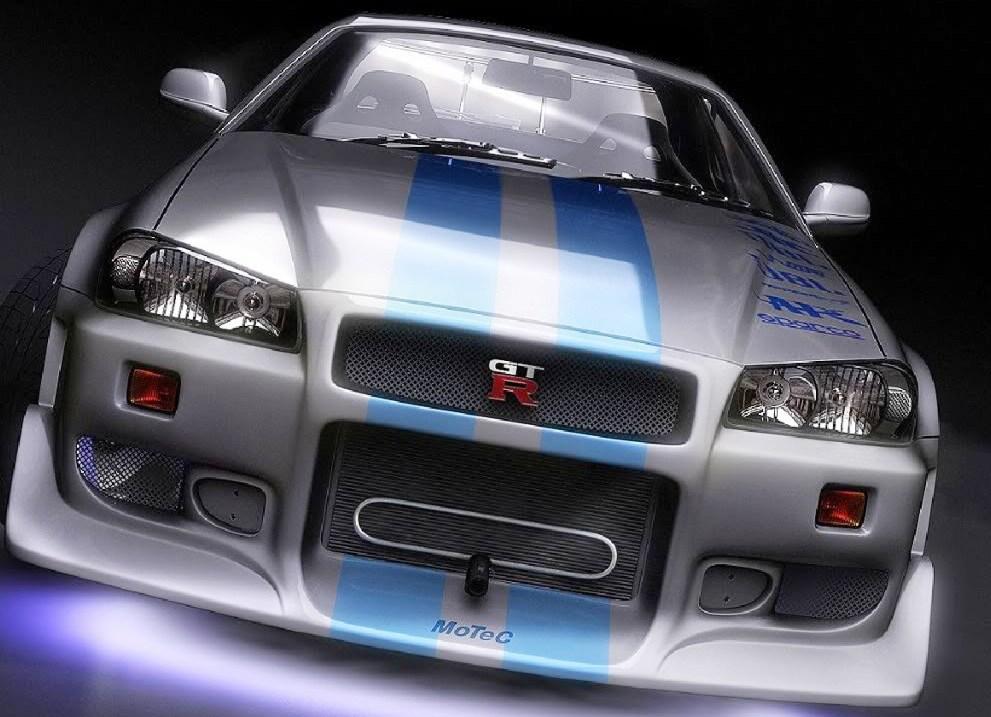 Brian O Conner S Nissan Skyline R34 Gt R 2 Fast 2