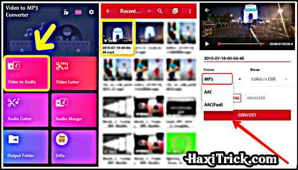 video ko audio convert karne wala apps kaise use kare