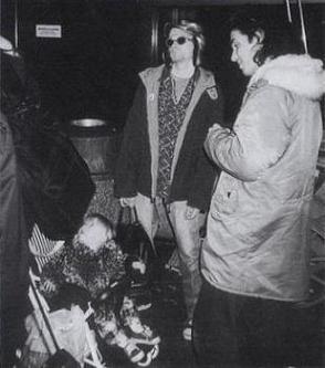 Última foto de Kurt Cobain vivo
