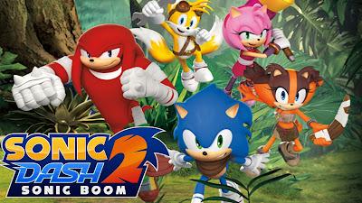 Sonic Dash 2: Sonic Boom v 1.7.5 Mod Apk (Money)