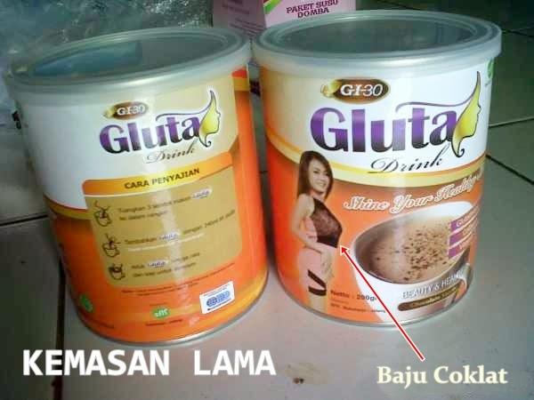 Gluta Drink Susu Pemutih Pelangsing