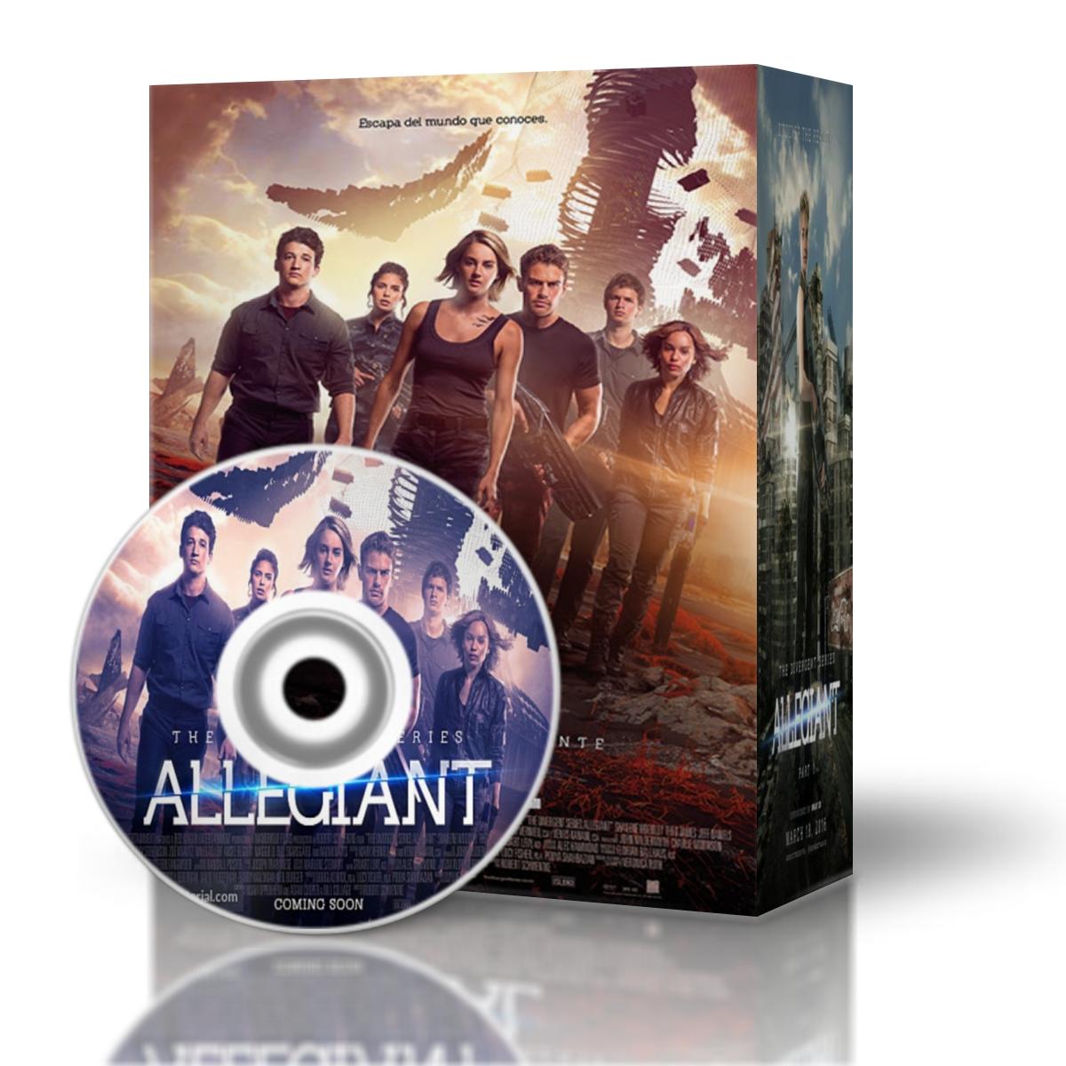 The Divergent Series: Allegiant-La serie Divergente: Leal - 1ª parte 2016-HD-Mkv