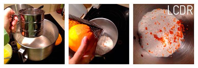 Bizcocho de naranjas confitadas 03