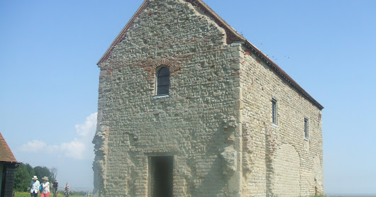 The Chapel of St Peter-on-the-Wall - Bradwell-on-sea