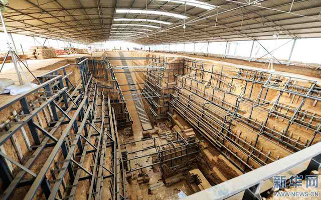 Royal tomb from Three Kingdoms period excavated in Central China