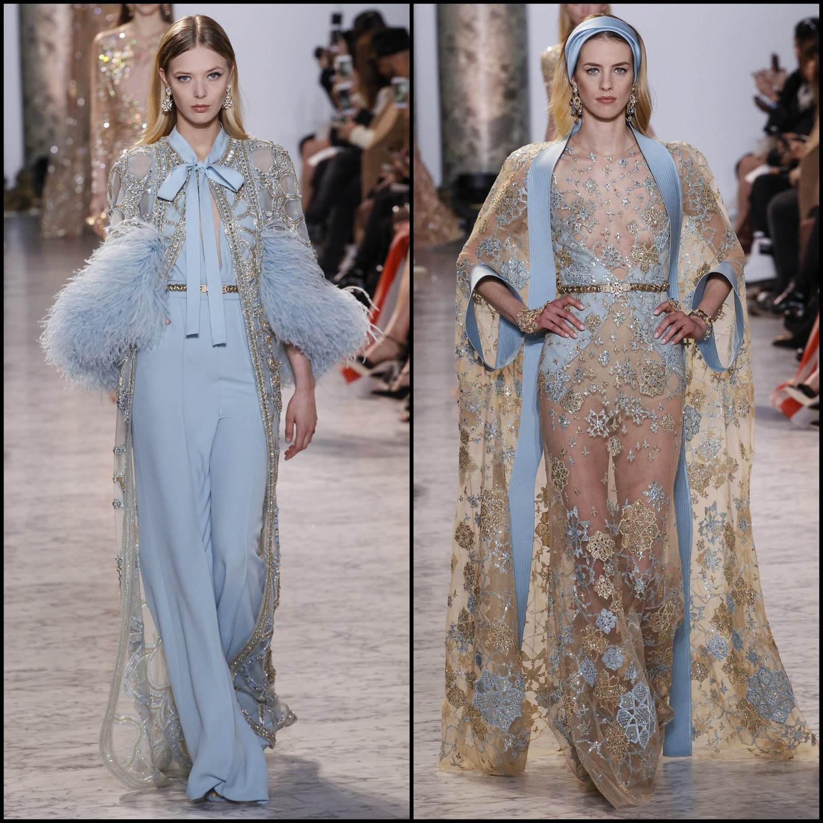 Runway report paris haute couture fashion week elie for Haute couture fashion