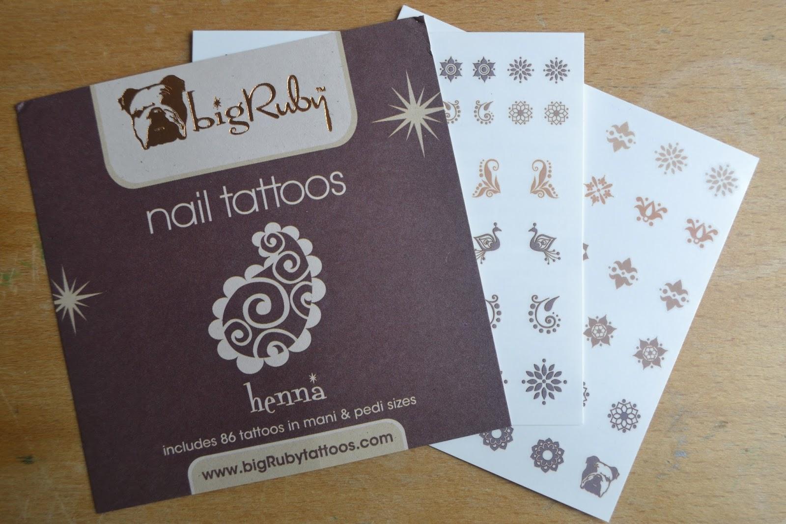 bigRuby Nail Tattoos