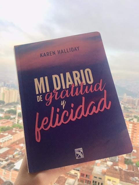 Mi diario de gratitud y felicidad (Karen Halliday)