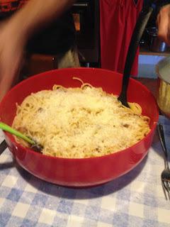 la laiterie de paris, podere le fornaci, veritable recette des carbonaras, blog fromage, blog fromage maison, faire son fromage, pecorino recette