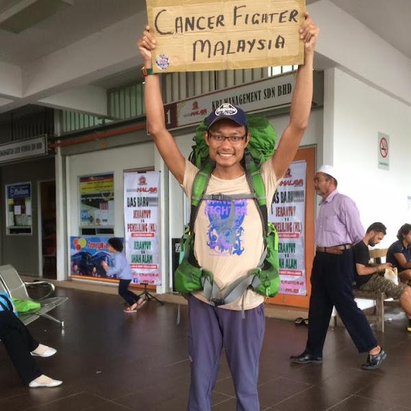 PEJUANG CANCER JELAJAH BORNEO DENGAN RM1