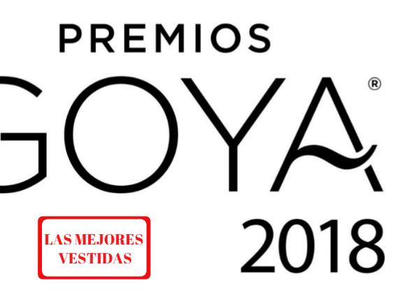 El top 5 de las mejores vestidas de los premios Goya