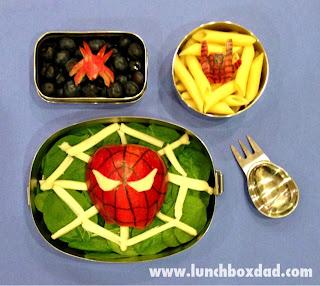 Spiderman Kids Lunch
