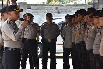 Kapolres Tanjung Pinang Antisipasi Protes Masa Pendukung