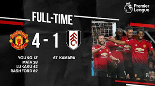 Manchester United vs Fulham 4-1 Video Gol & Highlights