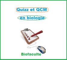 Quizz et QCM Biologie en ligne