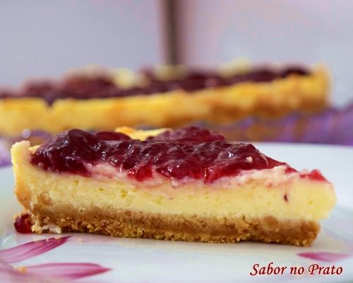Como fazer cheesecake de amora