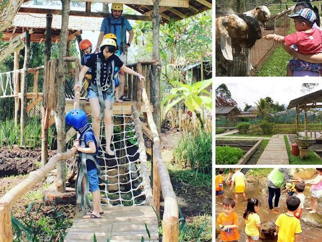 Jendela Alam, Wisata Edukasi dan Fun Games di Parongpong