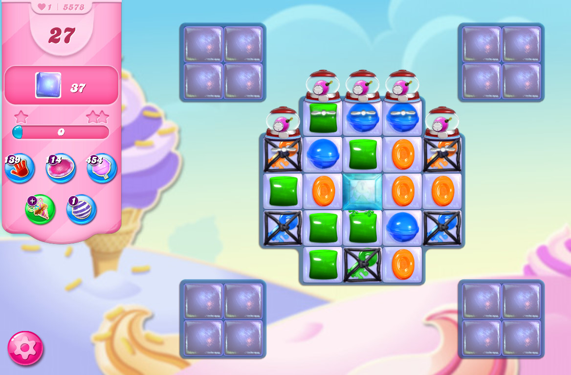 Candy Crush Saga level 5578