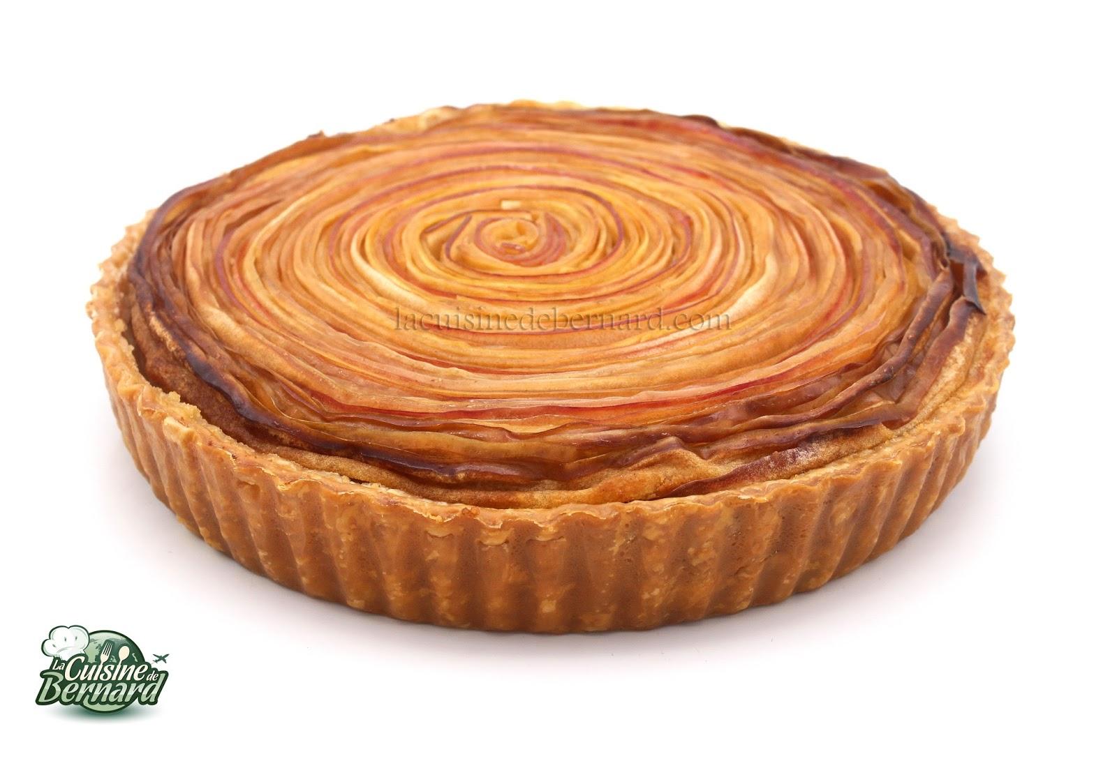 La Cuisine De Bernard Tarte Spirale Aux Pommes Et Creme D Amande