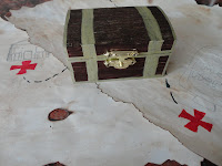 Treasure Chest on Treasure Map