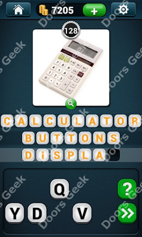 Cheats, Solutions, Walkthrough for PicWords Level 128 for android and iphone