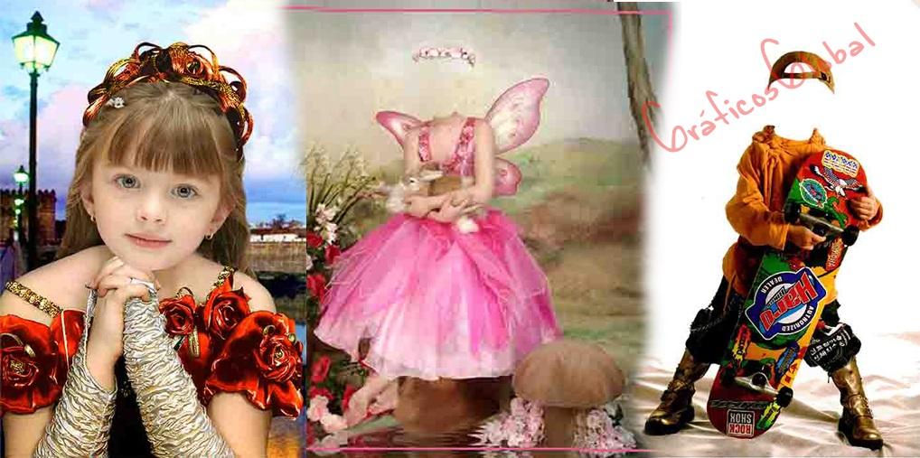Fotomontajes Infantiles psd No9