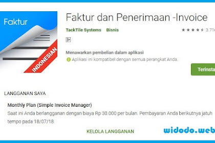 Aplikasi Bikin Penawaran dan Invoice Yang Simple