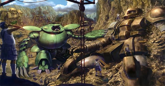 Nel Futuro Ancestrale di ∀ Gundam