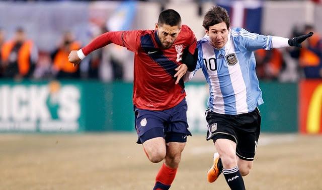 Estados Unidos vs Argentina en vivo Copa America 2016