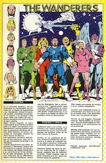 Errantes Ficha DC Comics