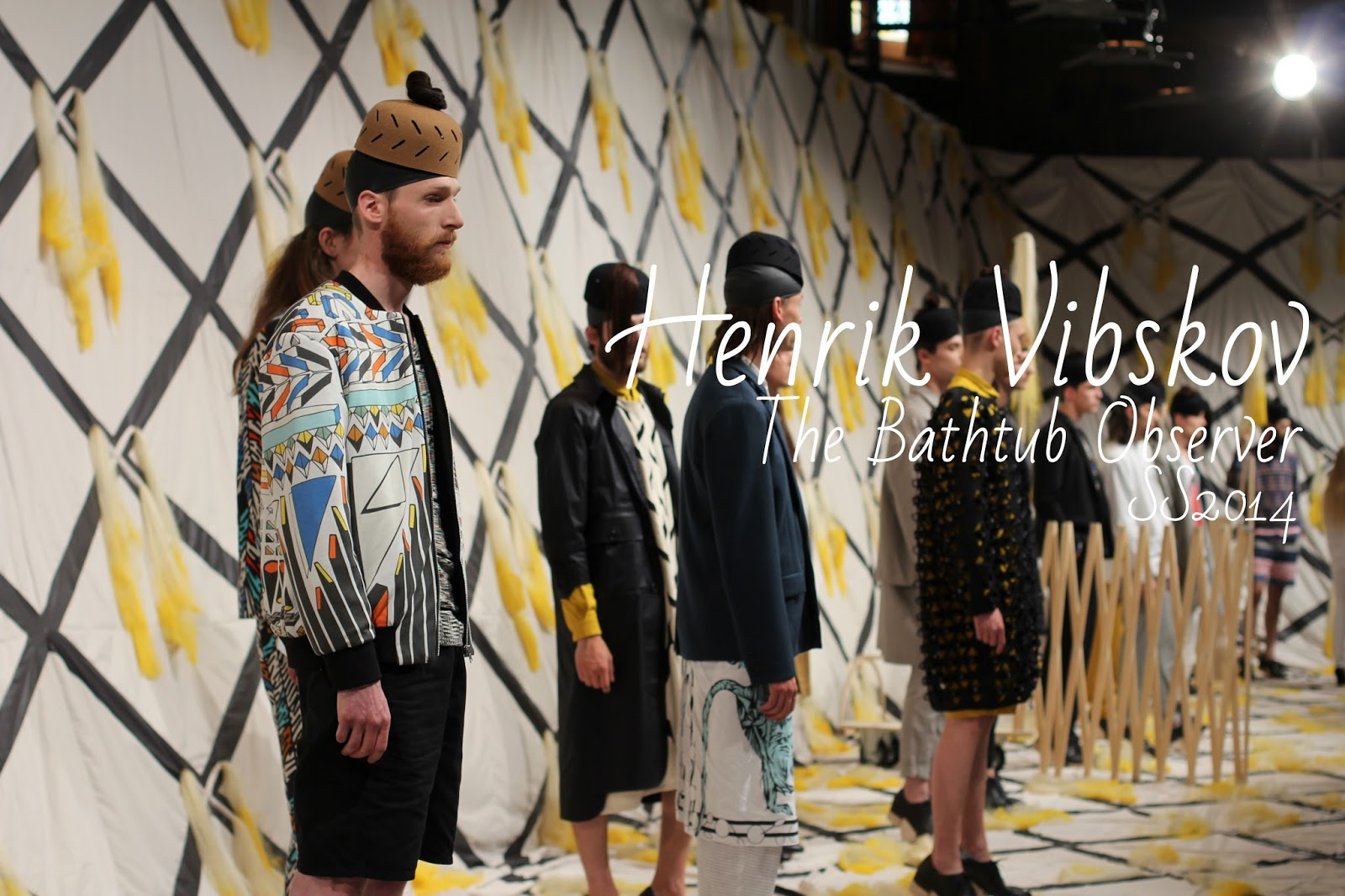 Henrik Vibskov PE 2014 - Blog Mode - Fashion Week