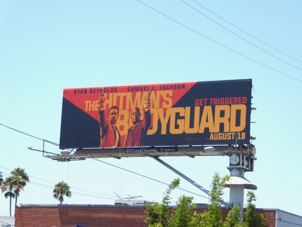 Hitmans Bodyguard billboard