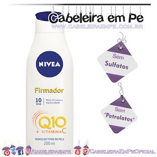 Hidratante Firmador Q10 + Vitamina C Todos os tipos de pele - Nivea (Sem Sulfatos e Sem Petrolatos)