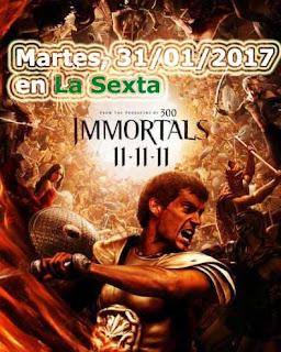 inmortals pelicula destacada hoy martes