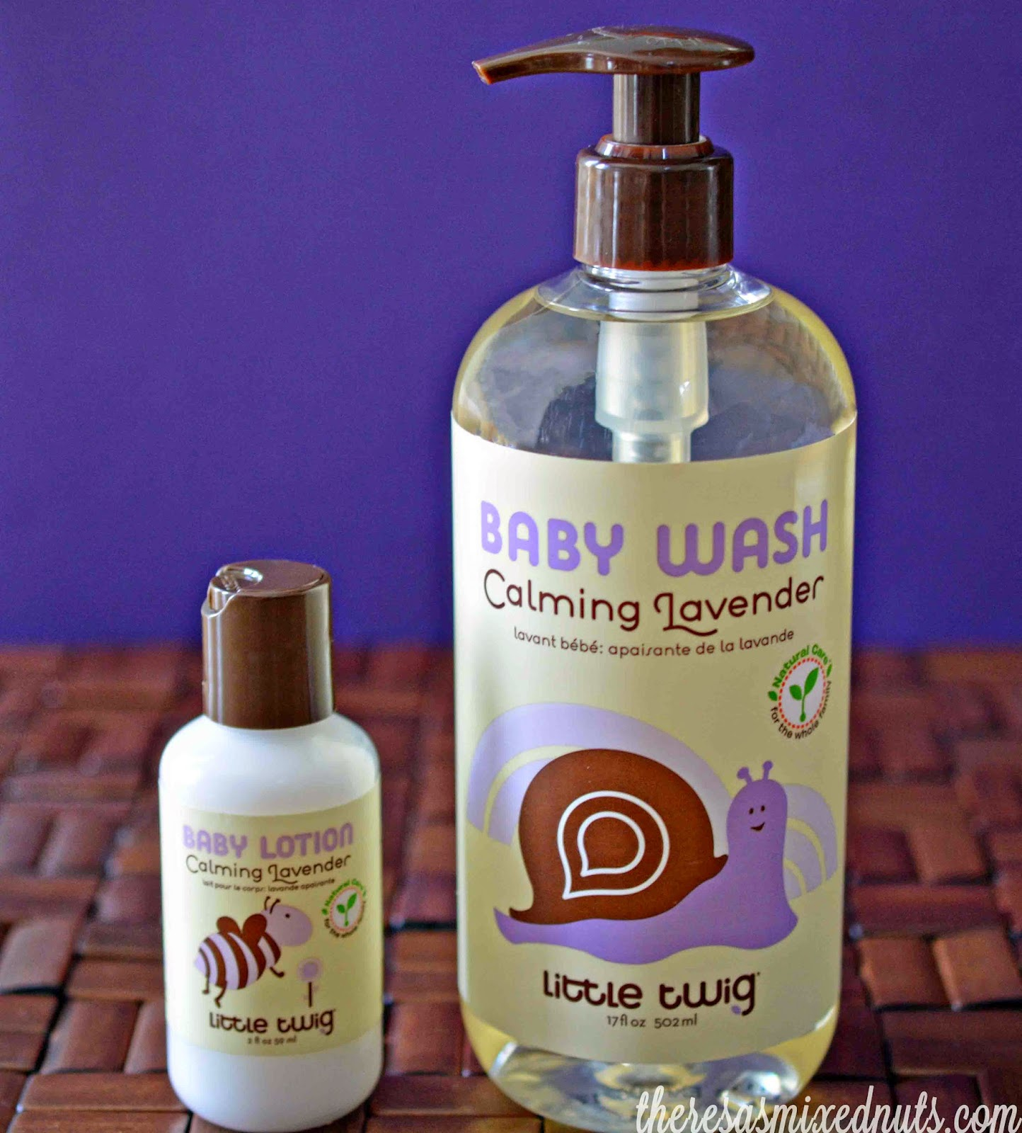Little Twig Lavender Lotion Body Wash