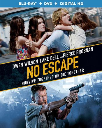 No Escape 2015 Hindi Dual Audio 480p BRRip 300mb
