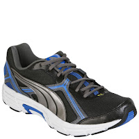 Puma Men's Defender Running Trainers - Black/Silver/Blue