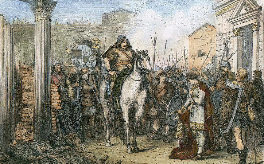 Image result for Odoacera soldier became the first King of Italy