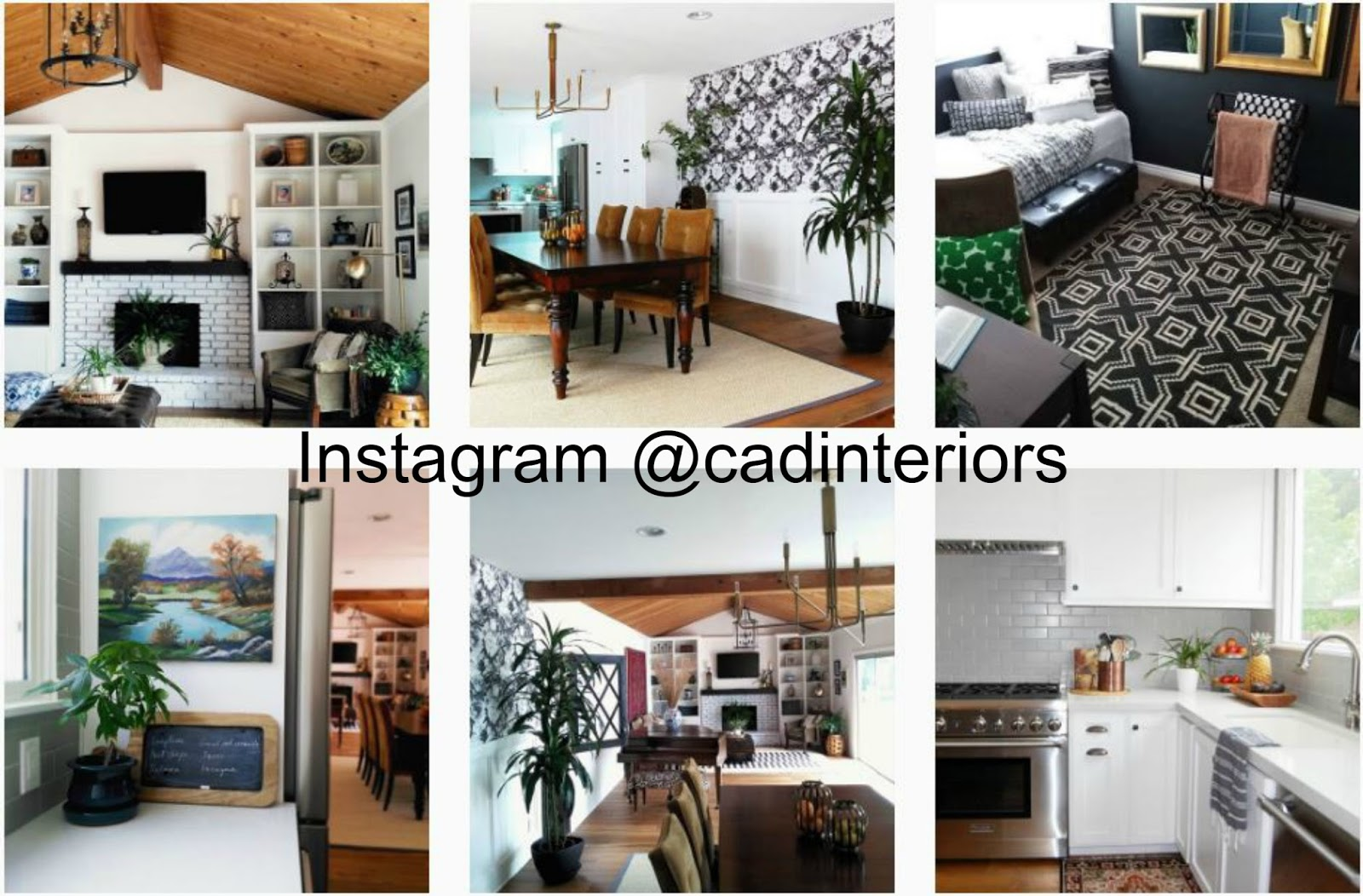 Follow CAD INTERIORS on Instagram