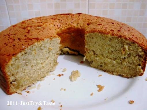 Resep Cake Sifon Pisang