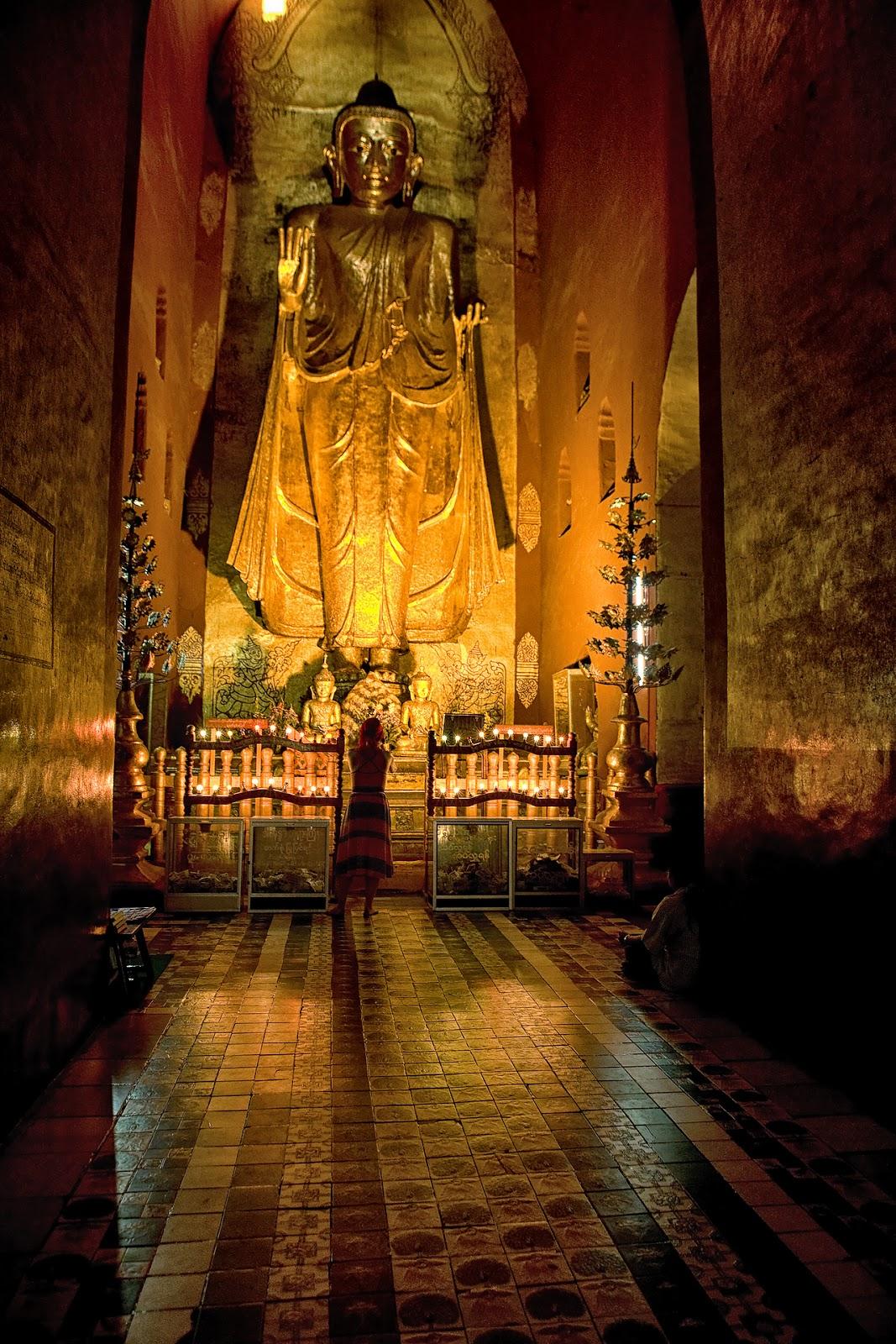 pagoda,wnętrze,bagan,birma