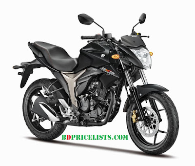 Suzuki Gixxer Motorcycle Species & Price In Bangladesh