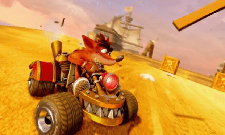 تحميل لعبة كراش Crash Team Racing للكمبيوتر مجانا
