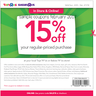 Toys R Us coupons for february 2017