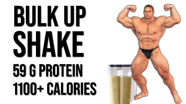 Bulk Up Meal Replacement Shake - 59 gram Protein & 1100+ Calories