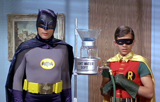 Batman movie 1966, Batman and Robin