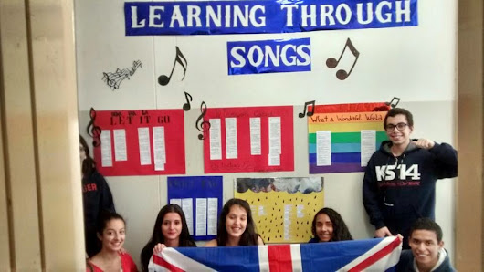 learning english through songs For teenagers, learning through songs is a great opportunity to combine their interests and learning the language if your child is interested in a song, they will be determined to understand it remind your child that pop songs sometimes use informal, everyday language.