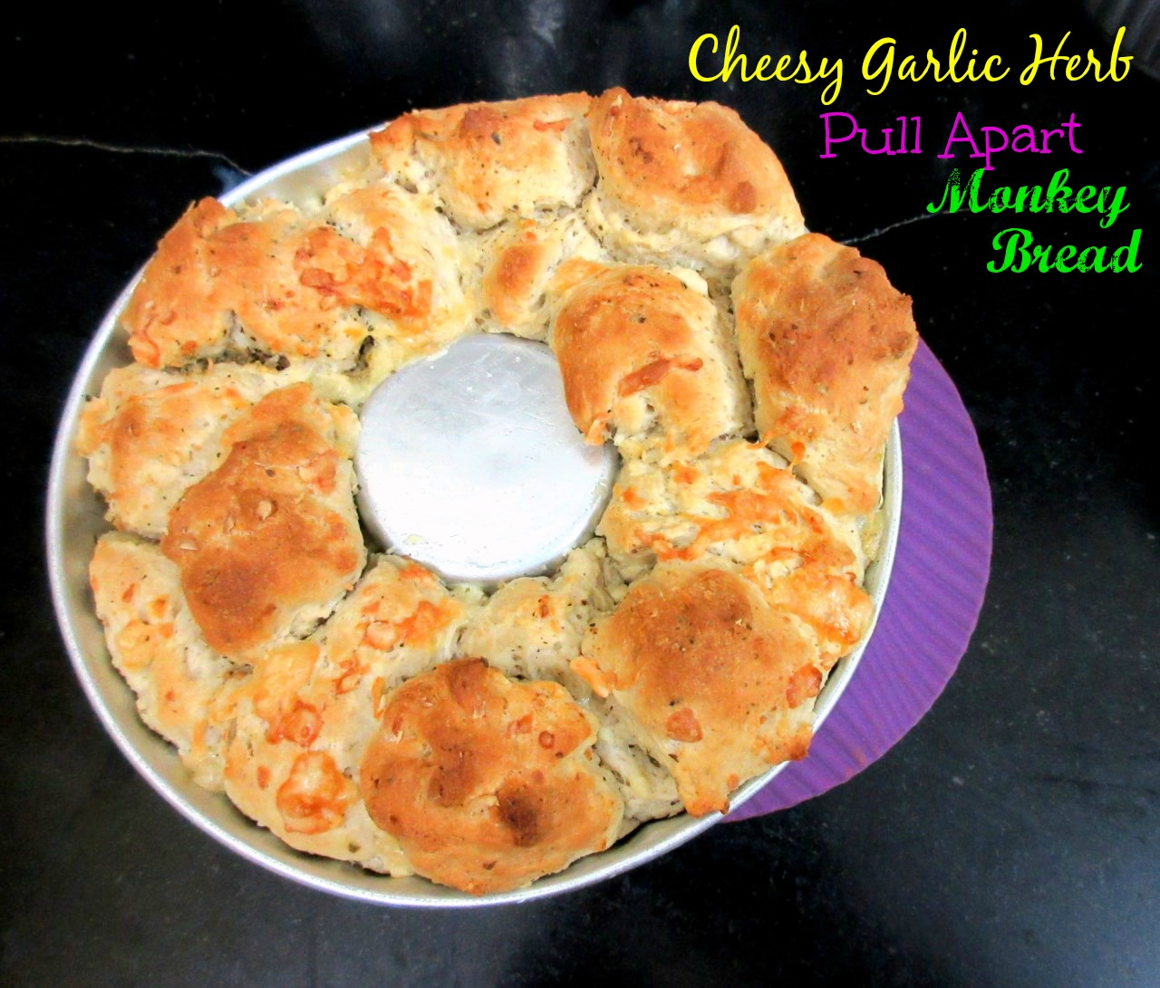 Cooking 4 All Seasons: Cheesy Garlic Herb Pull Apart